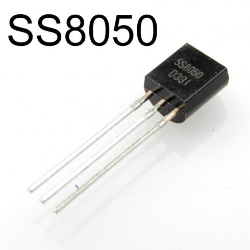 SS8050D (S8050), NPN биполярный транзистор