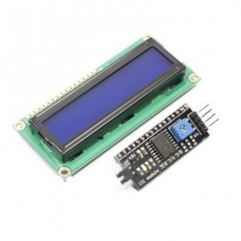 LCD дисплей 1602 c интерфейсом I2C