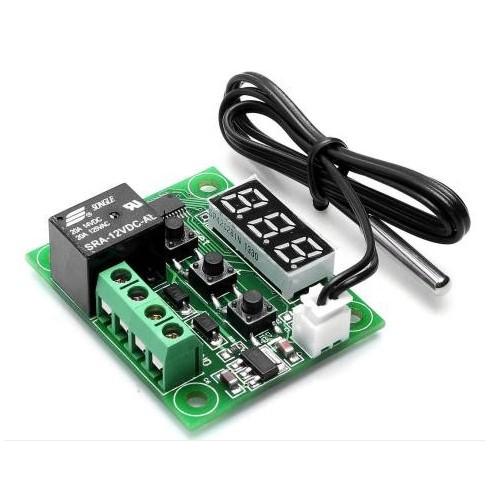 Термостат программируемое с выносным датчиком W1209