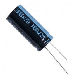 Конденсатор электролитический алюминиевый 10000 мкФ, 25 В.