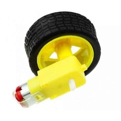 ТТ мотор-редуктор с колесом