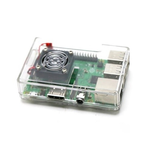 Корпус для Raspberry pi с кулером